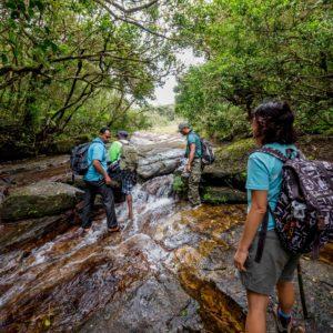Water fall trekking @ Knuckles